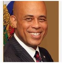 Président Michel Martelly met en garde agitateurs et fauteurs de trouble