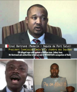 FLASH – FLASH – FLASH–SINAL BETRAND, DEPUTIE PORT SALUT,  MOISE JEAN-CHARLES AND ARNEL BELIZAIRE SUSPECTED AS CRIMINAL AUTHORS IN DISAPPEARANCE OF EVINX DANIEL, OWNER OF DAN'S CREEK HOTEL IN PORT SALUT…..INVESTIGATION FOCUSED IN GONAIVES AREA
