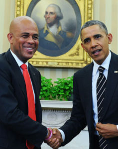 Le president Barack Obama felicite Haiti pour les efforts accomplis