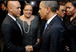 Haiti's delayed elections is top of agenda during Martelly's meetings