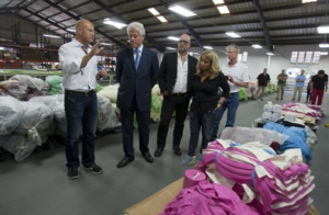 Clinton Foundation funds recycling plant in Haiti