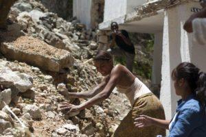 Director Raoul Peck shoots new quake film in Haiti