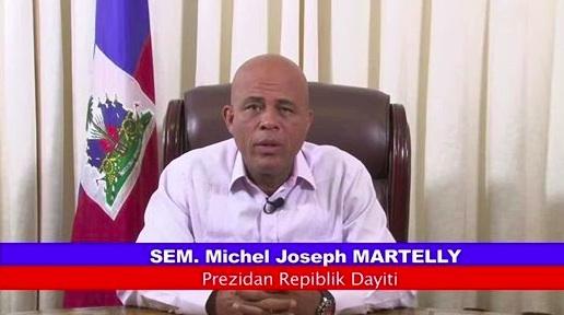 Message of the president Michel Martelly  Mesaj Prezidan Repiblik la S.E.M Michel Joseph MARTELLY sou fòmasyon KEP 6 Me 2014 la