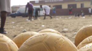 HAITIAN CHILDRENS' FUND COORDINATES ONE WORLD FUTBOLS IN HAITI