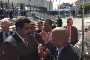 Haiti PM Lamothe, Venezuelan President Maduro exchange on bilateral cooperation