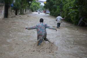 Heavy rains kill 12 in Haiti, cause flooding