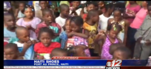 Orphans in Haiti gifted with shoes from PBC school kids