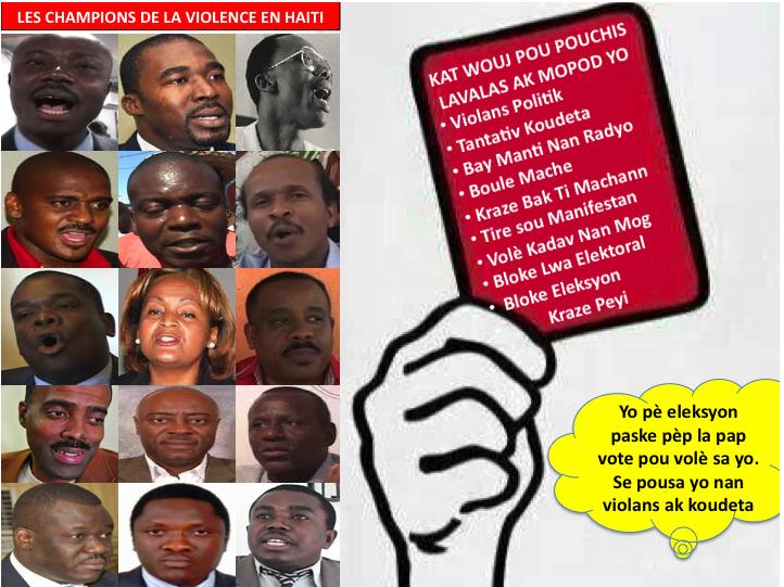 Les Champions de la violence en Haiti