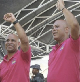 THE SOLUTION TO OUR CRISIS DOES NOT NEED A COMMITTEE  OPINION. PRESIDENT MARTELLY COULD HAVE MANAGED THIS HIMSELF. THAT IS WHY WE ELECTED HIM AND NOT CRIMINALS LIKE GERARD GOURGUE AND EVANS PAUL. MARTELLY COULD ISSUE A SIMPLE STATEMENT AND BECOME A STATESMAN – IN ITS PUREST FORM. HERE IS WHAT HE COULD SAY: