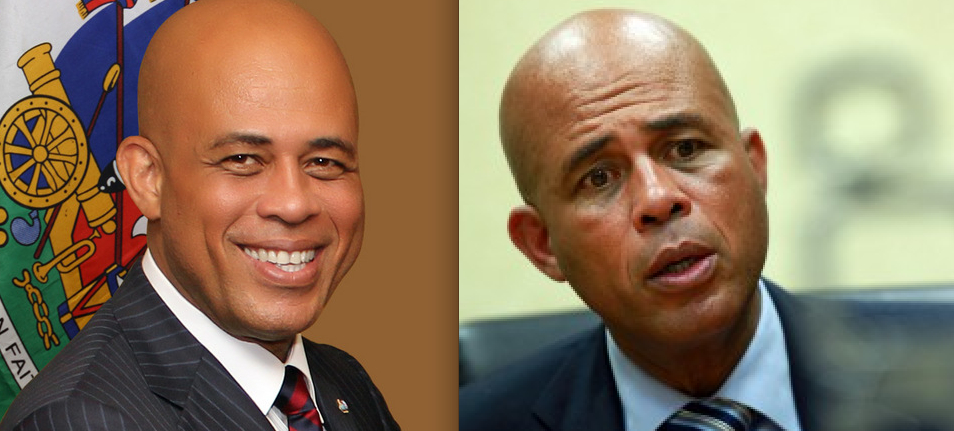 WHERE IS THE MICHEL MARTELLY OF 2011??  A CARICATURE GIVES JANUARY 1 SPEECH AT GONAIVES
