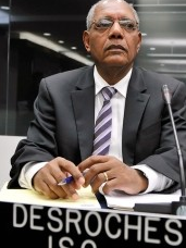 SOCIETE CIVILE'S ROSNY DESROCHES CRITICISES MARTELLY'S REMOVAL OF PRIME MINISTER LAURENT LAMOTHE ON VISION 2000