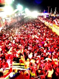 MARTELLY WINS- CARNIVAL A HUGE SUCCESS AS 500,000 PACK CITY CENTER