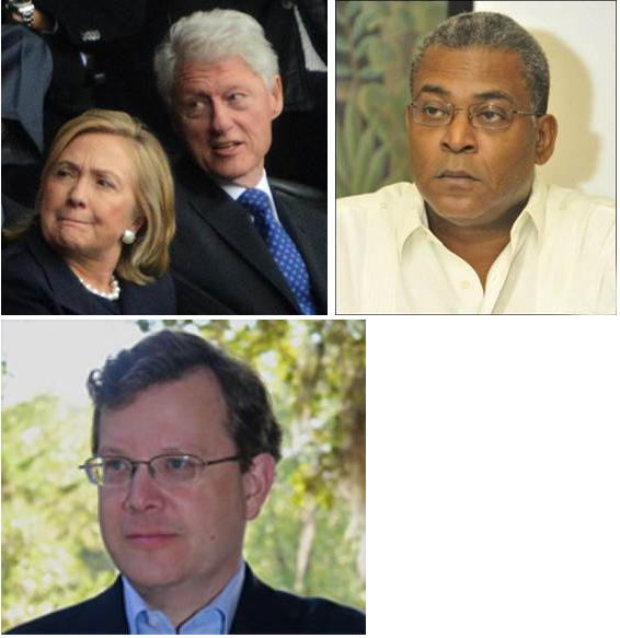 Les Clinton, Bellerive et l'or d'Haïti