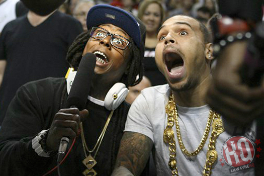 Image result for chris brown and lil wayne