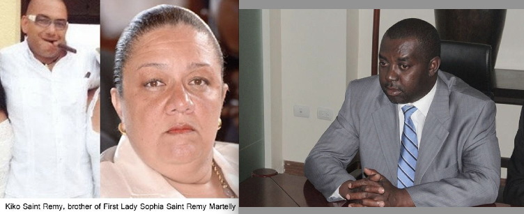 ALL IN THE FAMILY AS MARTELLY SENDS KIKO TO CLAUDIA – SOPHIA'S SISTER'S HOUSE – TO COLLECT $9,000,000 FROM MINISTER OF AGRICULTURE. HE ONLY BROUGHT $600,000 AND KIKO ALMOST BEAT HIM TO DEATH!! SOME SAY THEY SKIMMED $20,000,000 FROM CUSTOMS AND PORT FACILITY IN MAY.