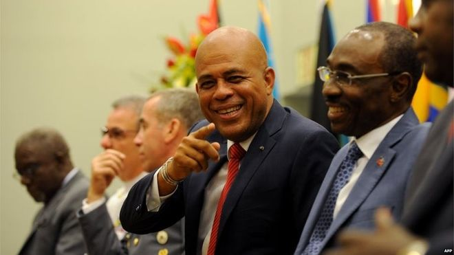 Haiti President Michel Martelly embroiled in sexism row- Added COMMENTARY By Haitian-Truth