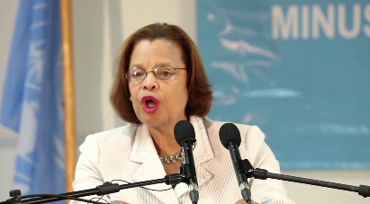 WHAT CHANCE DO THE POOR PEOPLE OF  HAITI HAVE WHEN MINUSTAH CHIEF   SANDRA HONORE SAYS ELECTIONS 99.9% GOOD!!! WE PREDICTED SOMETHING LIKE THIS BUT NOT 99.9% FOR THE CRIMINAL DISASTER WE EXPERIENCED AUGUST 9.
