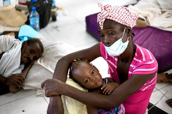 U.N. role in Haiti cholera epidemic