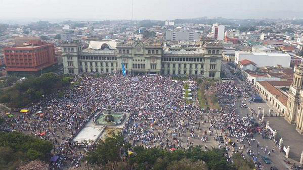 Guatemala Protesters Call National Strike to Force President Out