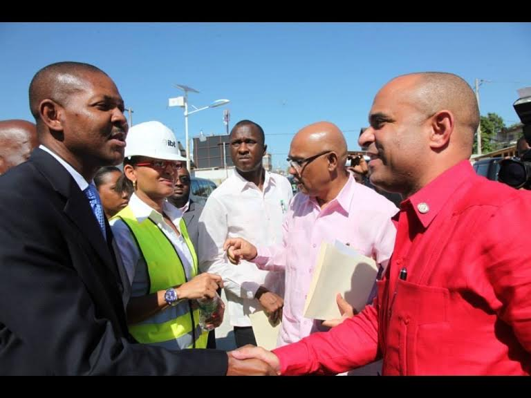 HAITI-ELECTIONS:LE PHTK S'ACCAPARE DU CAPITAL DE LAURENT LAMOTHE.
