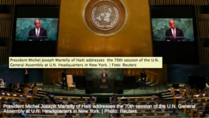 Haiti Calls for 'New Dynamic' in Global Security at UN- See FULL VIDEO- BOTH FRENCH AND ENGLISH