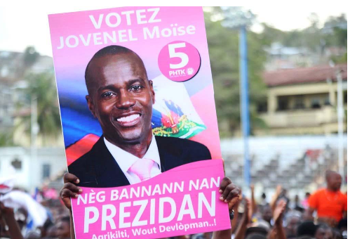 JOVENEL MOISE IN FIRST ROUND?