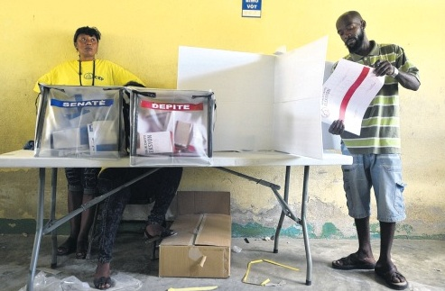 Haiti's ruling party wins big in municipal elections: results