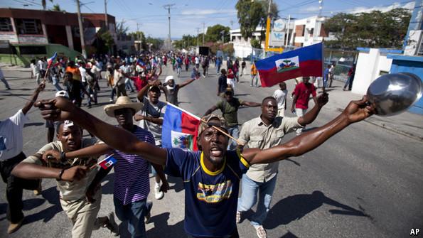 2e journée de manifestations violentes contre les élections