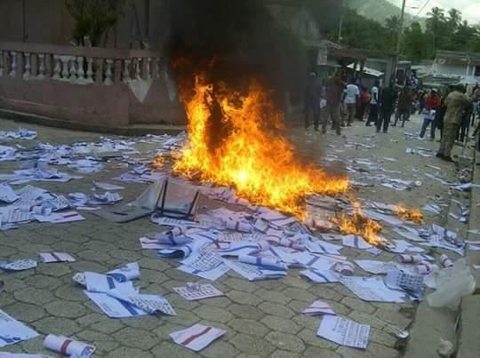 Fanmi Lavalas veut massacer les votants et Pitit Dessalines choisit la violence