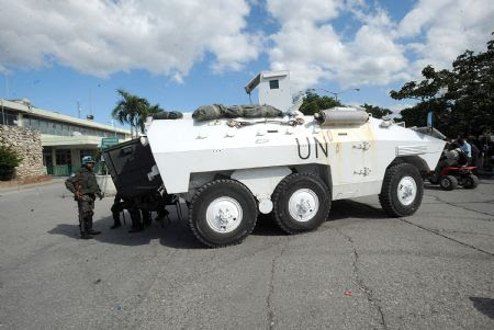 PRESIDENT MARTELLY TIGHTENS SECURITY TO PREVENT ILLEGAL DEMONSTRATIONS – MINUSTAH DEPLOYS PERSONNEL IN ACCORDANCE WITH THEIR RESPONSIBILITY TO HAITIAN PEOPLE