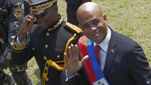 Haiti's President to step down on February 7