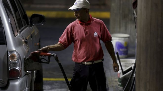 Venezuela raises petrol price for first time in 20 years
