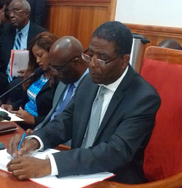 ENEX JEAN CHARLES RECEIVES 20 FOR – ZERO AGAINST AND 0 ABSTENTIONS IN SENATE VOTE – CHAMBER OF DEPUTIES NEXT