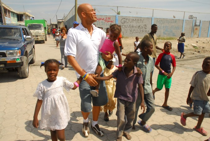 MICHEL MARTELLY ENJOYS RETIREMENT WITH HIS PEOPLE