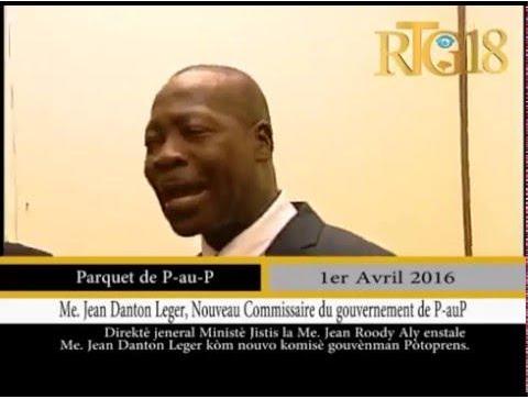DANTON LEGER COMMISSAIRE DU GOUVERNEMENT PROVISOIRE.
