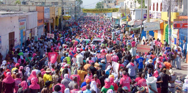 TUESDAY – MASSIVE JOVENEL DEMONSTRATION FLOODS THE STREETS DEMANDING IMMEDIATE RUN-OFF ELECTIONS