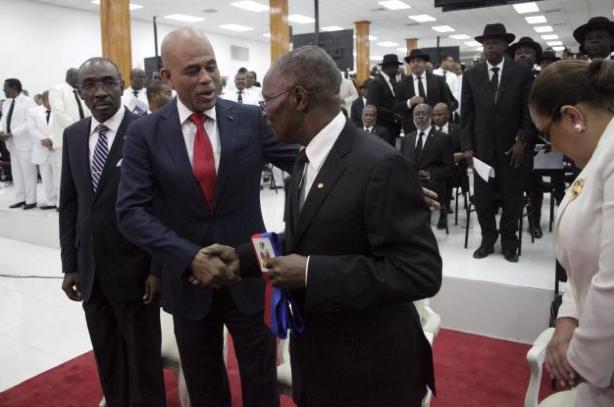 Lettre du 56eme President Michel Joseph Martelly