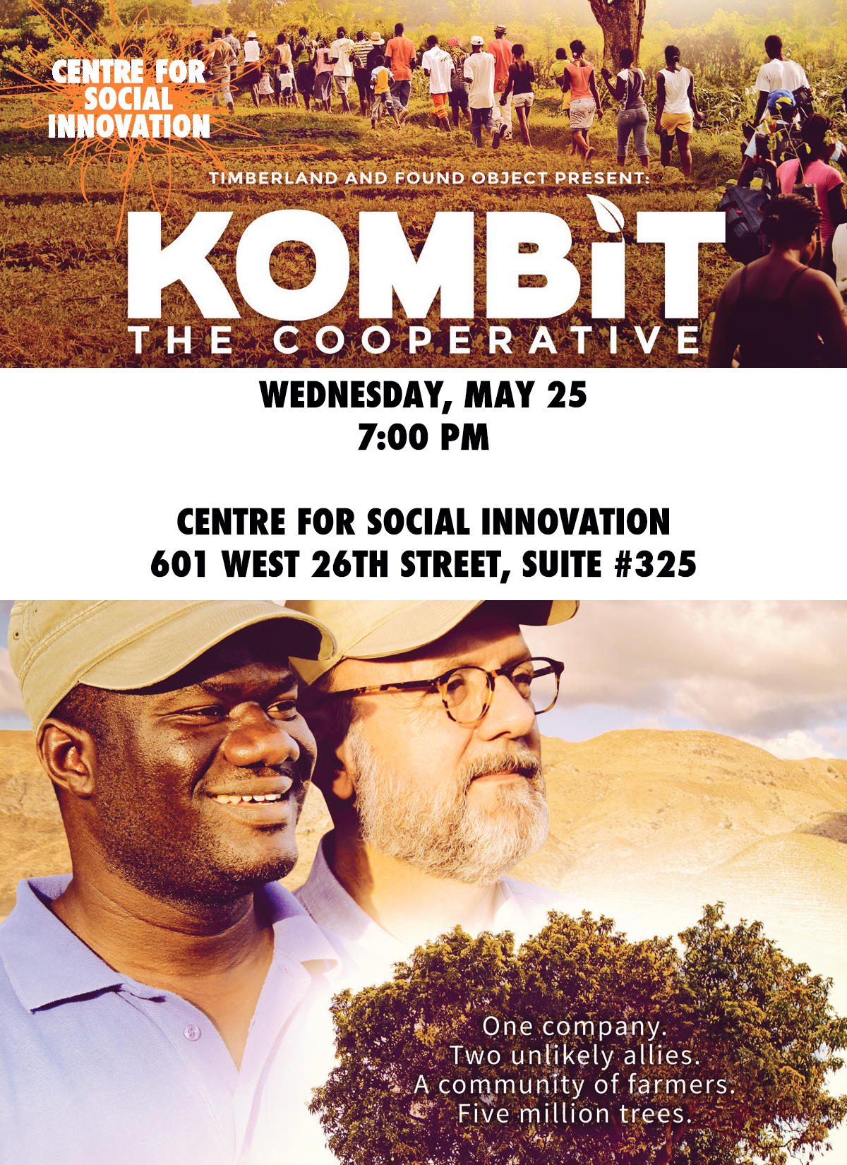 You are cordially invited to attend a   Screening of KOMBIT: The Cooperative