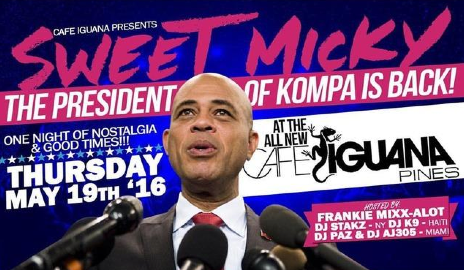 Michel Martelly -Former Haitian president headlines Miami's Compas Fest starting May 21