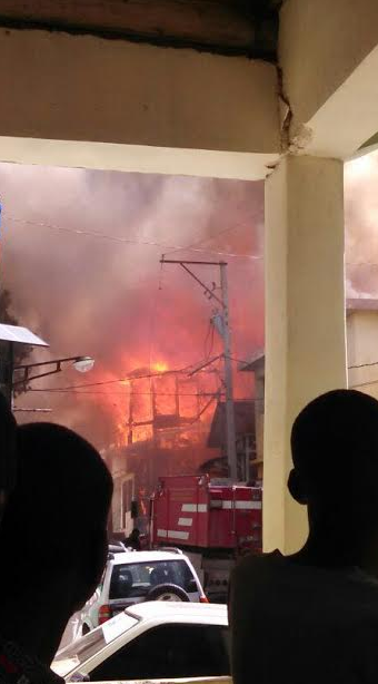 A key element in Haiti's educational history, Lycee Petion was torched today by Privert/Lavalas activists.