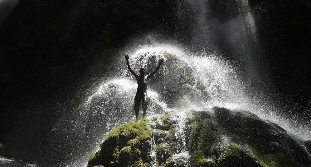 A thirst for Haiti's sacred waterfall