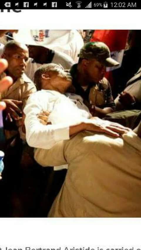 Aristide a un malaise, la campagne électorale retient son souffle
