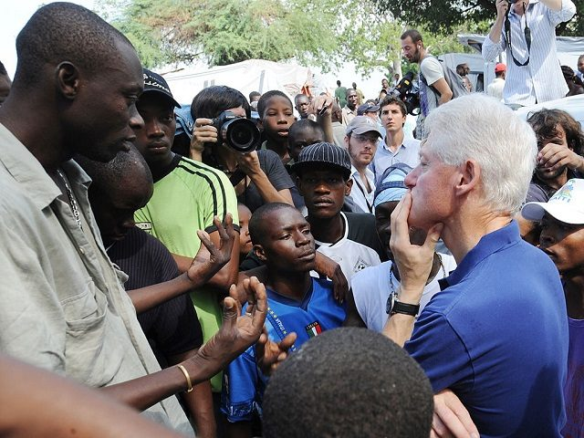 Former Haitian Senate President: Clintons Exploited Haiti Earthquake 'to Steal Billions of Dollars from the Sick and Starving'