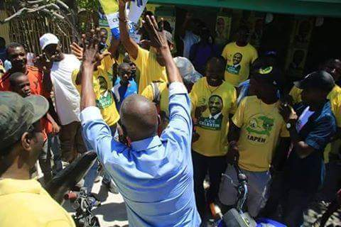 JOVENEL SWEEPS NATION WITH SERIES OF MASSIVE  WEEKEND RALLYS – GREETS CELESTIN SUPPORTERS!!!