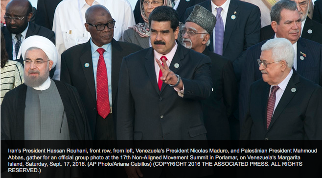 Only 12 heads of state arrive to non-aligned summit due to Venezuela's economic crisis