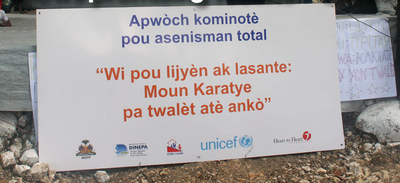Sanitation initiative in south-eastern Haiti shows promising results – UNICEF