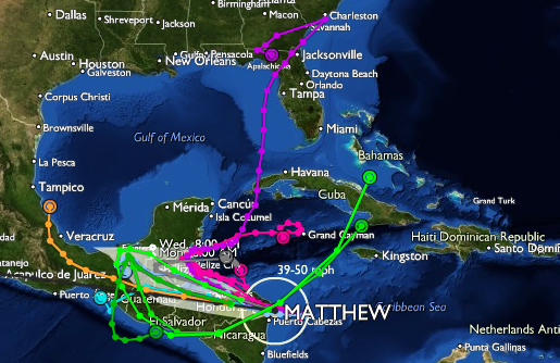 Potentially 'catastrophic' Hurricane Matthew nears Haiti, may hit U.S.