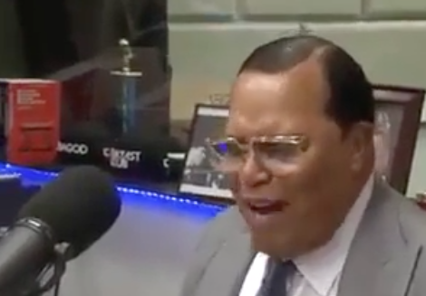 Farrakhan Blasts Clinton in Haitian Crimes