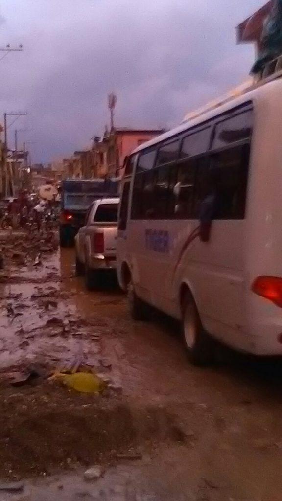 l'inondation dans le Nord  : Une idée provisoire de la situation des dégâts enregistrés moins de 24h de pluie dans le Nord et Nord-est d'Haïti