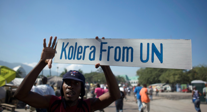 How a cash-strapped UN is struggling to solve the cholera epidemic in Haiti
